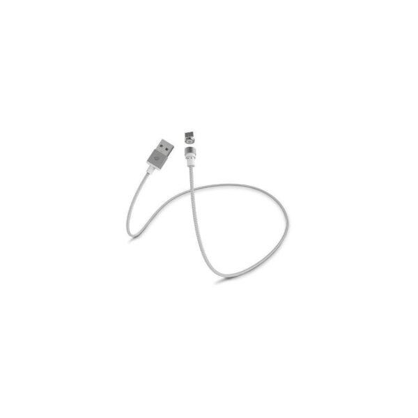 37670 - Магнитный круговой USB-кабель X-cable Wsken для iPhone, Android: коннекторы для Micro-USB/ Lightning (Apple)