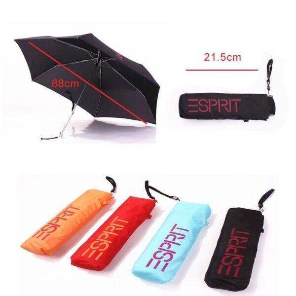 37779 - Плоский складной карманный зонтик