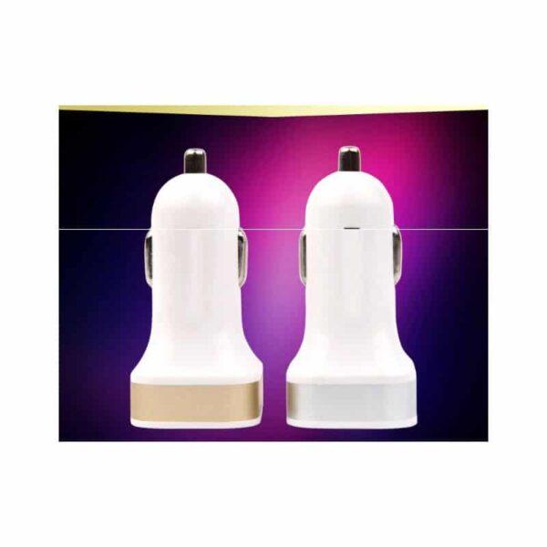 37883 - Автомобильное USB-зарядное для прикуривателя на два выхода: 2,1А/ 1А