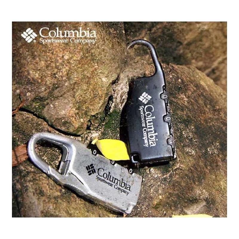 Блокиратор-карабин для дорожной сумки с кодовым замком Columbia 213693