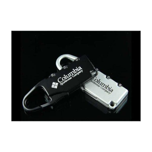 37923 - Блокиратор-карабин для дорожной сумки с кодовым замком Columbia