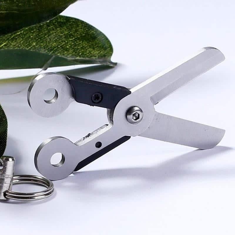Стальные EDC мини-ножницы на пружине 213701