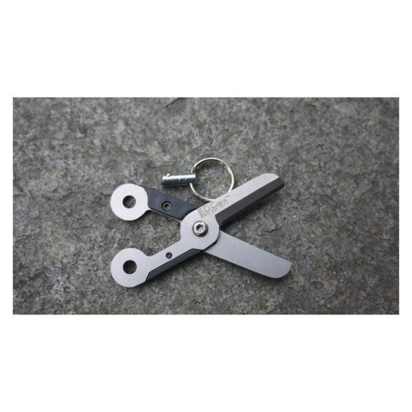 37937 - Стальные EDC мини-ножницы на пружине