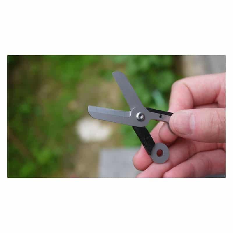 Стальные EDC мини-ножницы на пружине 213718