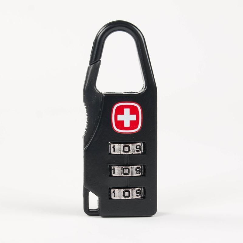 Кодовый замок-карабин для дорожной сумки