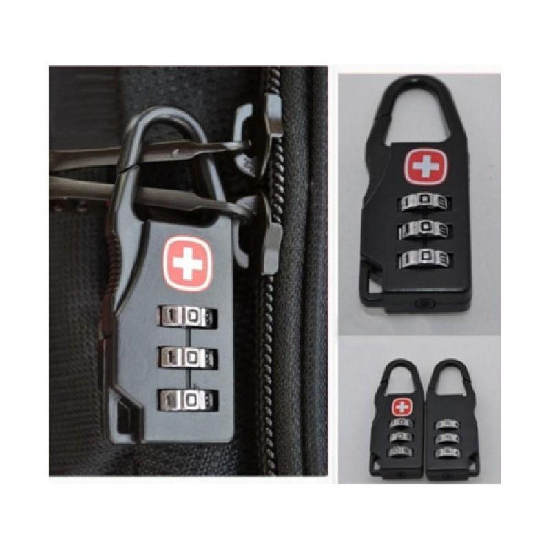 Кодовый замок-карабин для дорожной сумки 213731