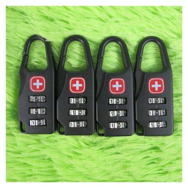37964 - Кодовый замок-карабин для дорожной сумки