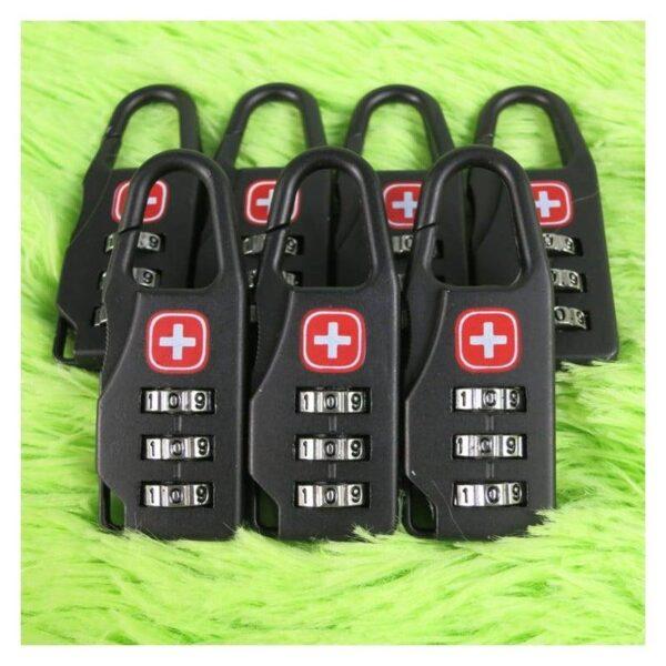 37965 - Кодовый замок-карабин для дорожной сумки