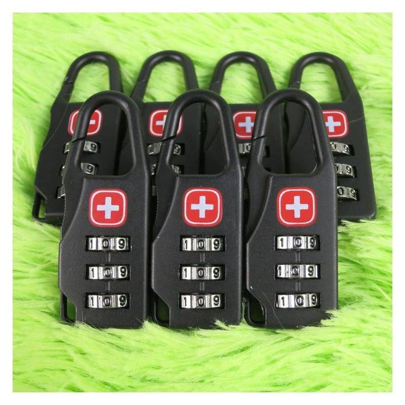 Кодовый замок-карабин для дорожной сумки 213734