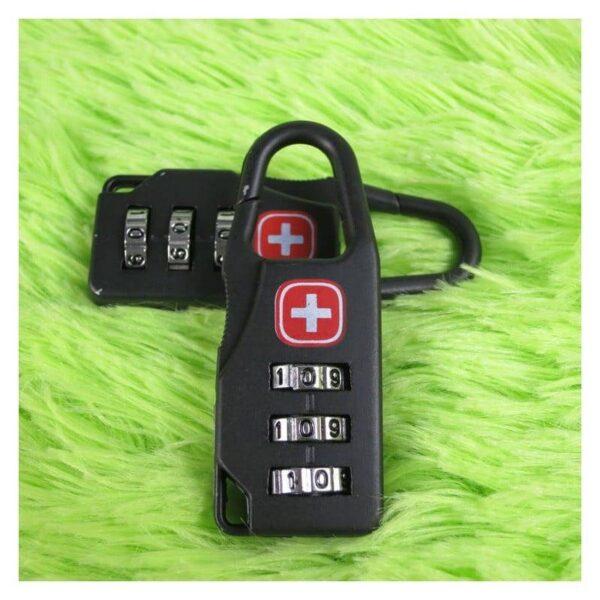 37966 - Кодовый замок-карабин для дорожной сумки