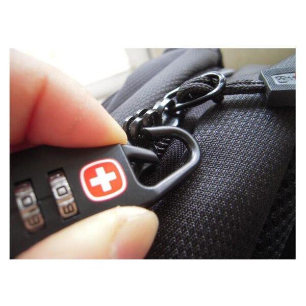 37968 - Кодовый замок-карабин для дорожной сумки