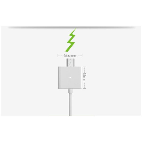 37972 - Магнитный USB-кабель (2,4А) WSKEN X-cable для устройств с Micro-USB: быстрая зарядка