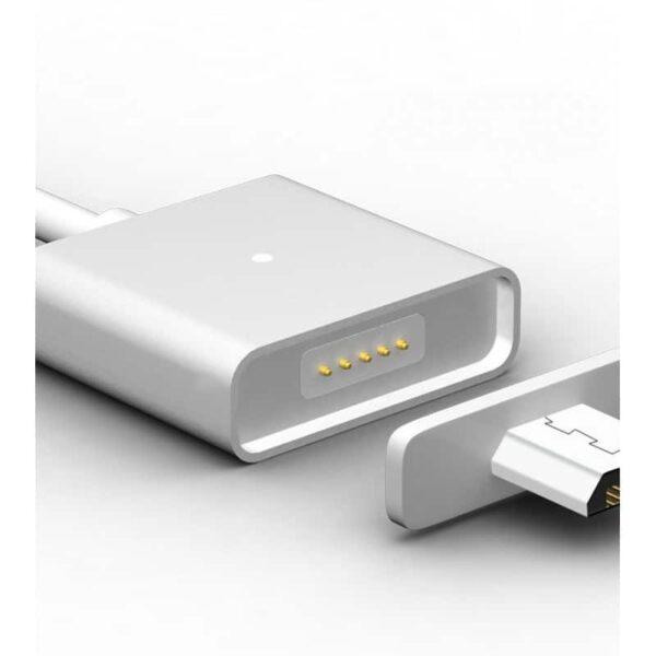 37975 - Магнитный USB-кабель (2,4А) WSKEN X-cable для устройств с Micro-USB: быстрая зарядка