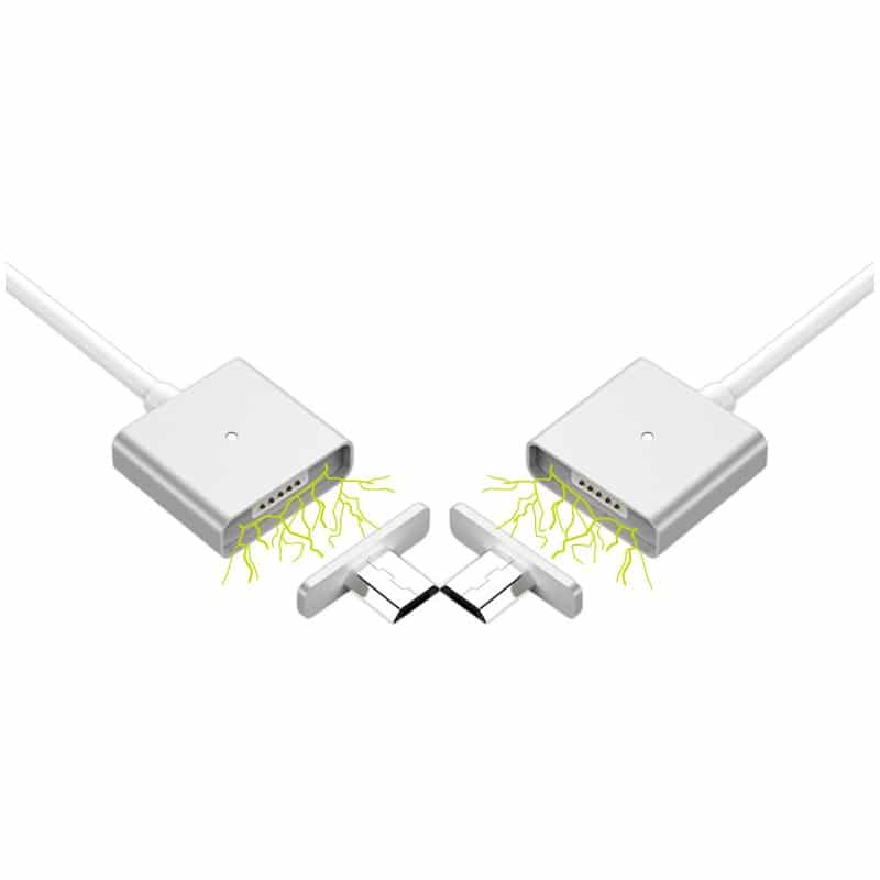 Магнитный USB-кабель (2,4А) WSKEN X-cable для устройств с Micro-USB: быстрая зарядка 213751