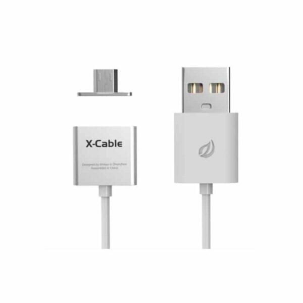 37987 - Магнитный USB-кабель (2,4А) WSKEN X-cable для устройств с Micro-USB: быстрая зарядка
