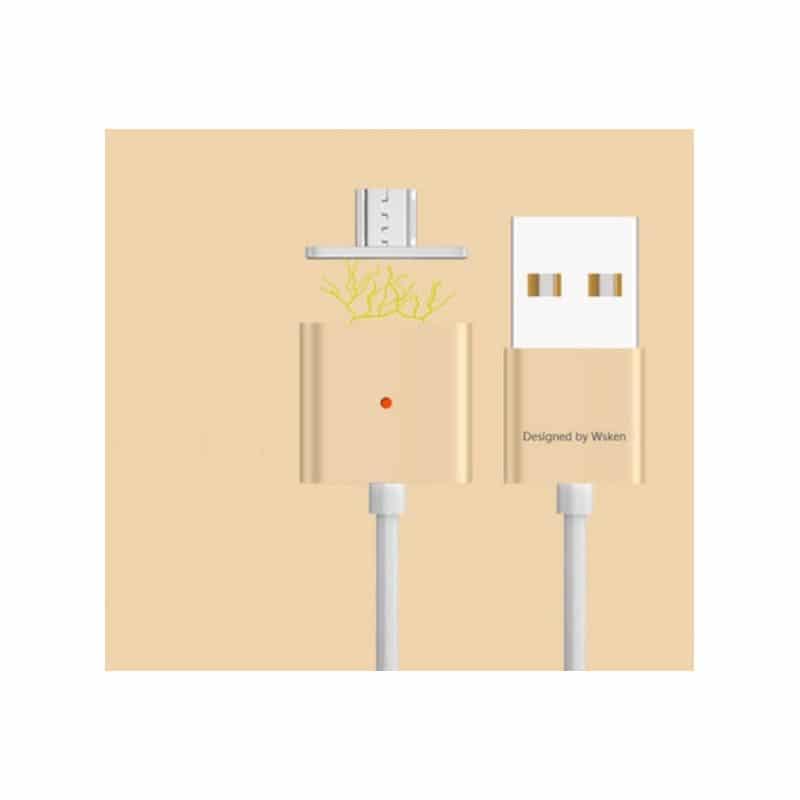 Магнитный USB-кабель (2,4А) WSKEN X-cable для устройств с Micro-USB: быстрая зарядка 213754