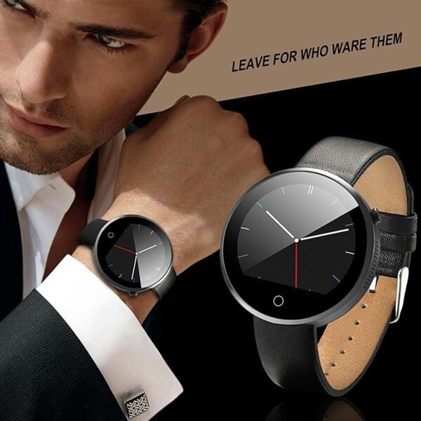 37997 - Спортивные смарт-часы DM360: Bluetooth 4.0, шагомер, пульсометр, звонки+смс, IP53, поддержка Android/ iOS, 320 мАч
