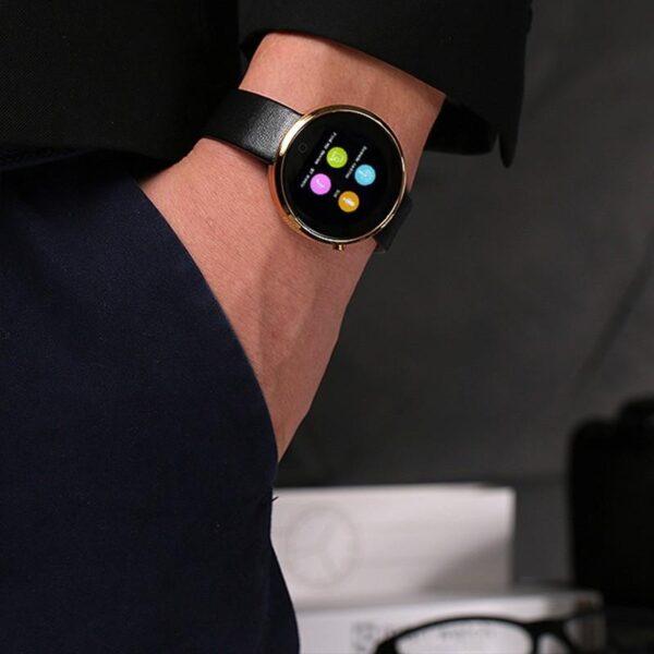 37998 - Спортивные смарт-часы DM360: Bluetooth 4.0, шагомер, пульсометр, звонки+смс, IP53, поддержка Android/ iOS, 320 мАч