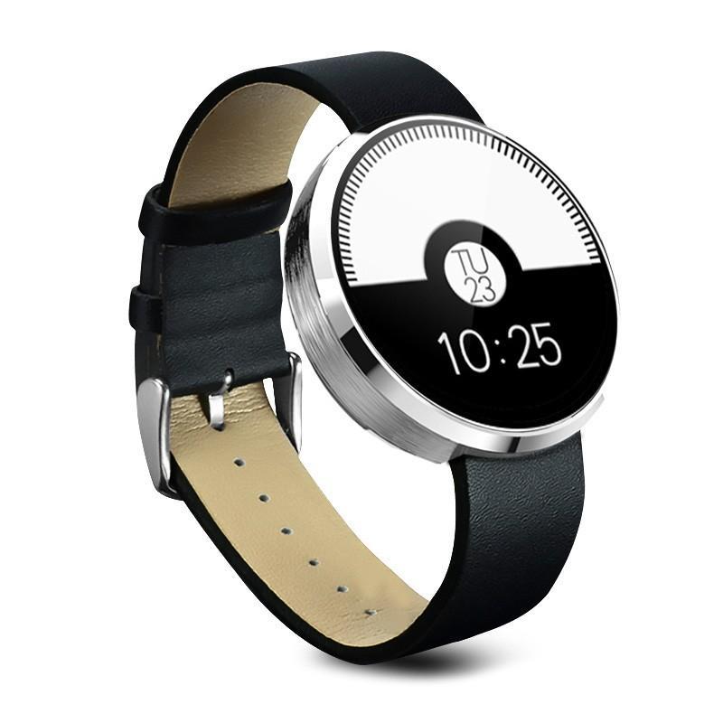 Спортивные смарт-часы DM360: Bluetooth 4.0, шагомер, пульсометр, звонки+смс, IP53, поддержка Android/ iOS, 320 мАч 213768