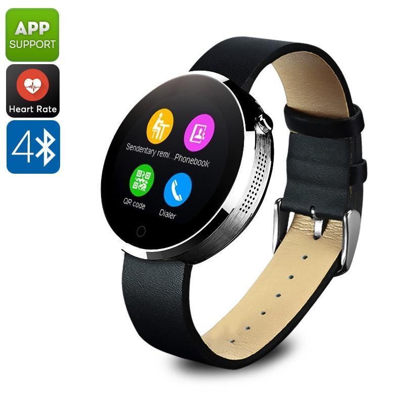 38003 - Спортивные смарт-часы DM360: Bluetooth 4.0, шагомер, пульсометр, звонки+смс, IP53, поддержка Android/ iOS, 320 мАч