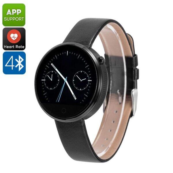 38006 - Спортивные смарт-часы DM360: Bluetooth 4.0, шагомер, пульсометр, звонки+смс, IP53, поддержка Android/ iOS, 320 мАч