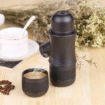 38018 thickbox default - Ручная портативная кофе-машина EspressoMaker 70 мл: ручной насос 8 Бар, не нужен источник питания, выбор крепости кофе