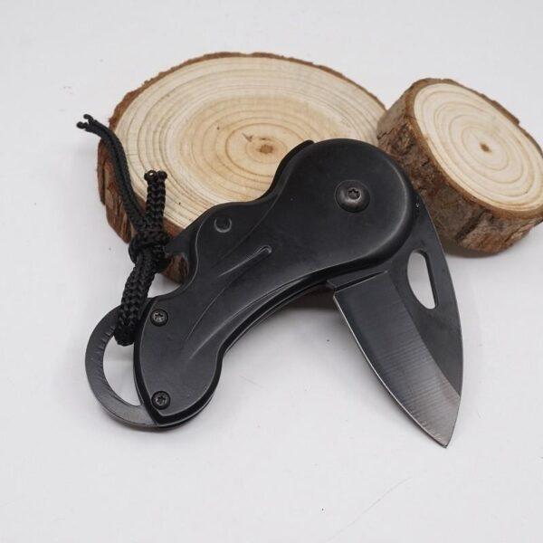 38039 - Складной маленький нож Buck B27 для охоты, рыбалки, самообороны, выживания: сталь 440, 57HRC, клинок 5 см