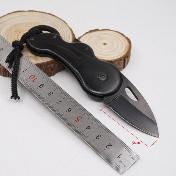 38046 - Складной маленький нож Buck B27 для охоты, рыбалки, самообороны, выживания: сталь 440, 57HRC, клинок 5 см