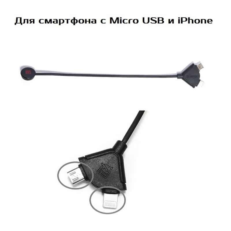 Подарочный набор для автомобилиста: зарядное-держатель для смартфона + антибликовый козырек HD Visor2.0 + Брелок-коробка передач 213852