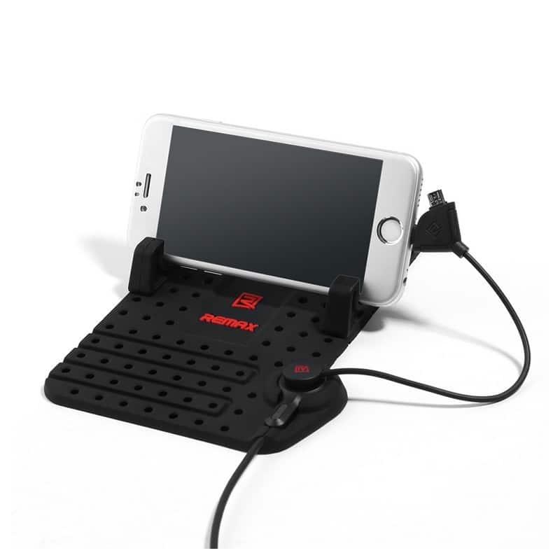 Подарочный набор для автомобилиста: зарядное-держатель для смартфона + антибликовый козырек HD Visor2.0 + Брелок-коробка передач 213853