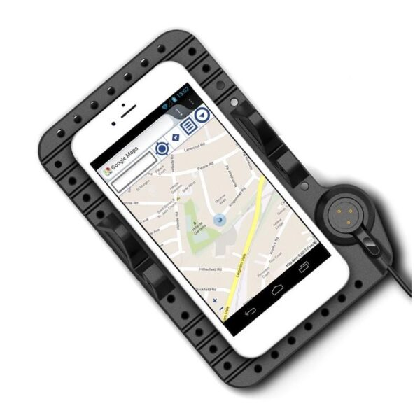 38100 - Подарочный набор для автомобилиста: зарядное-держатель для смартфона + антибликовый козырек HD Visor2.0 + Брелок-коробка передач