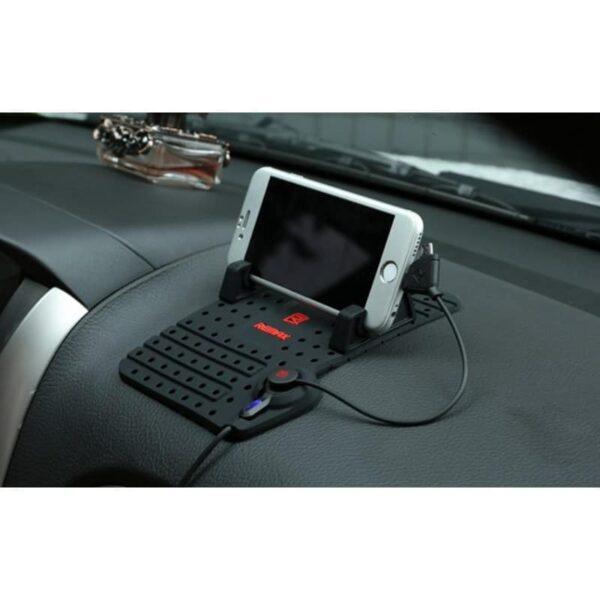 38103 - Подарочный набор для автомобилиста: зарядное-держатель для смартфона + антибликовый козырек HD Visor2.0 + Брелок-коробка передач