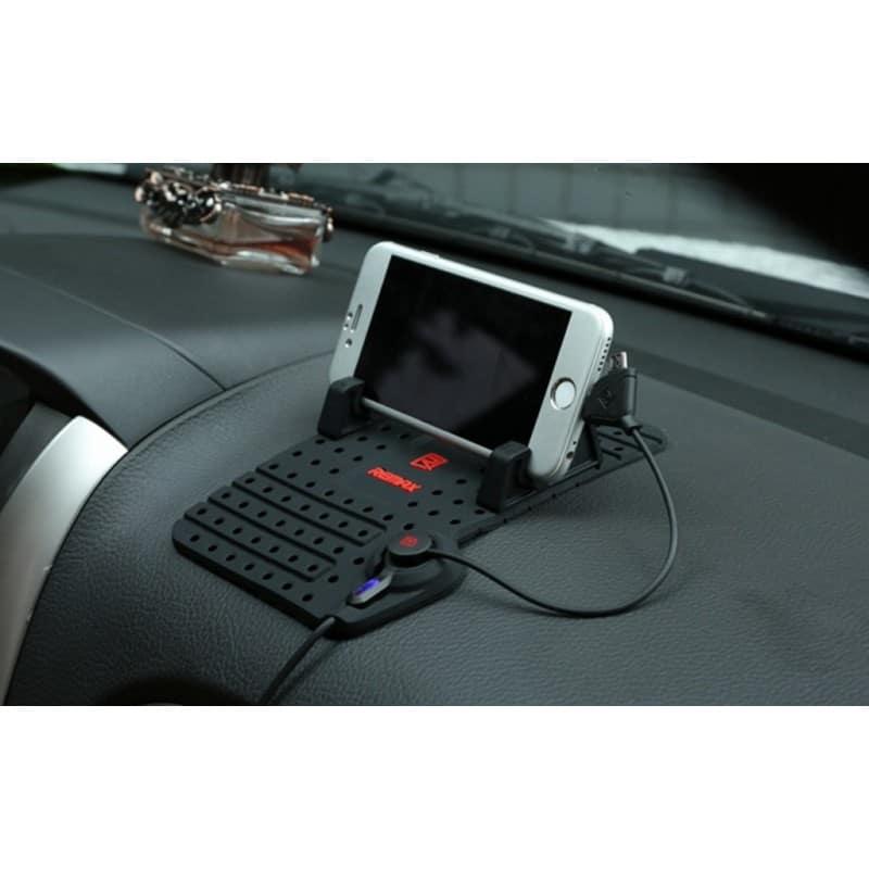 Подарочный набор для автомобилиста: зарядное-держатель для смартфона + антибликовый козырек HD Visor2.0 + Брелок-коробка передач 213862