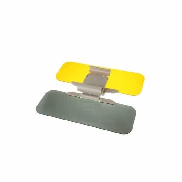 38108 - Подарочный набор для автомобилиста: зарядное-держатель для смартфона + антибликовый козырек HD Visor2.0 + Брелок-коробка передач