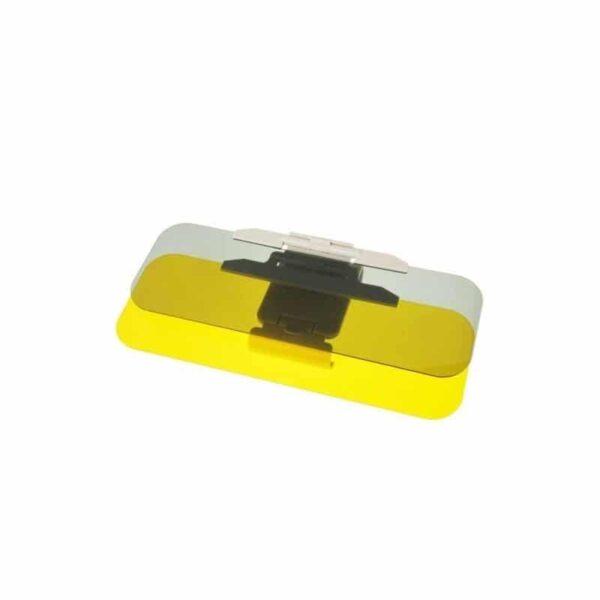 38110 - Подарочный набор для автомобилиста: зарядное-держатель для смартфона + антибликовый козырек HD Visor2.0 + Брелок-коробка передач