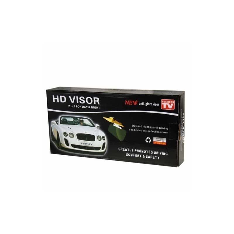 Подарочный набор для автомобилиста: зарядное-держатель для смартфона + антибликовый козырек HD Visor2.0 + Брелок-коробка передач 213872