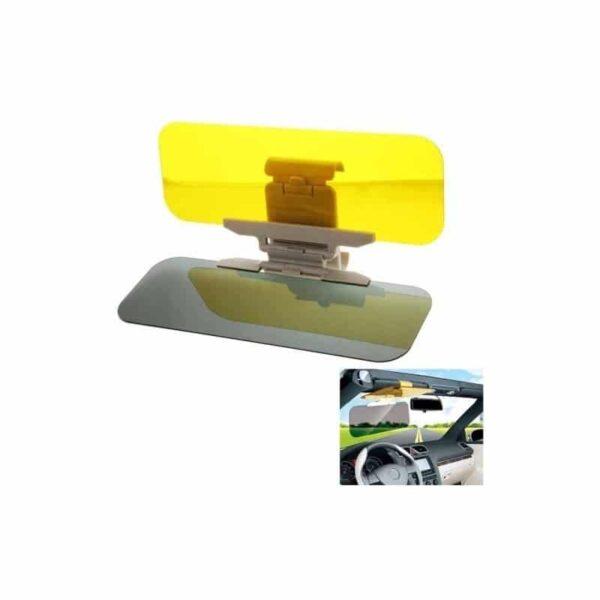 38116 - Подарочный набор для автомобилиста: зарядное-держатель для смартфона + антибликовый козырек HD Visor2.0 + Брелок-коробка передач