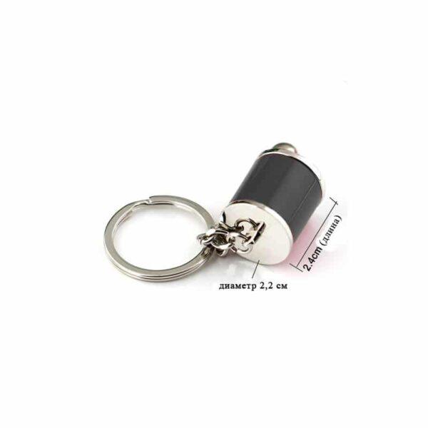 38121 - Подарочный набор для автомобилиста: зарядное-держатель для смартфона + антибликовый козырек HD Visor2.0 + Брелок-коробка передач