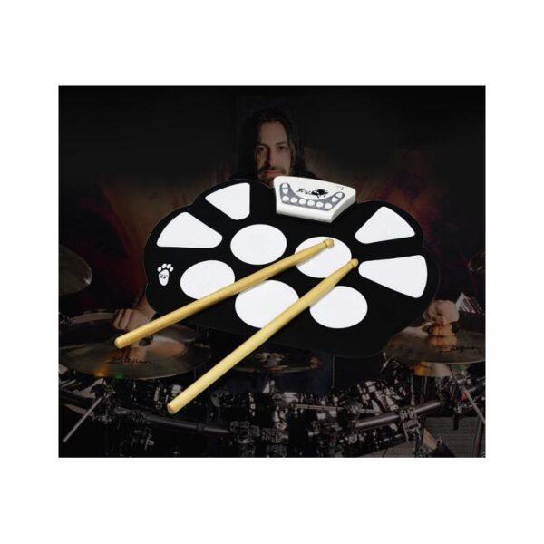 38342 - Электронная ударная midi-установка Konix W758 - 5 барабанов, 4 тарелки, USB, MP3