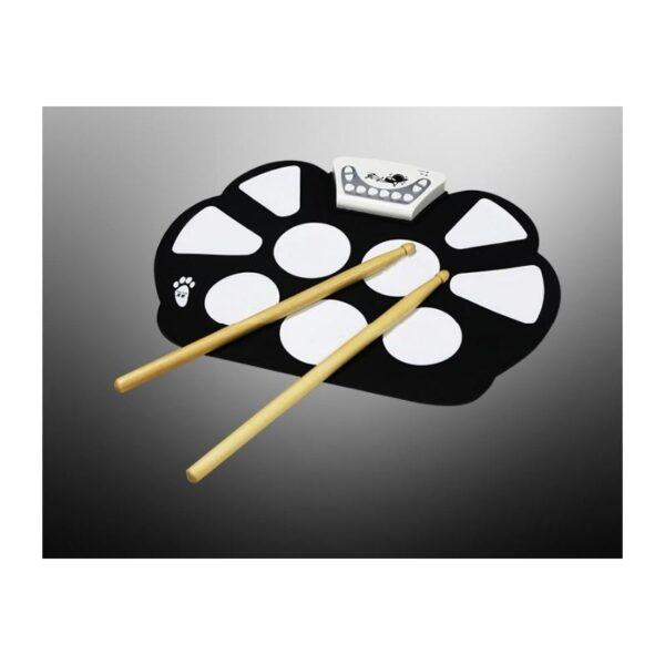 38346 - Электронная ударная midi-установка Konix W758 - 5 барабанов, 4 тарелки, USB, MP3