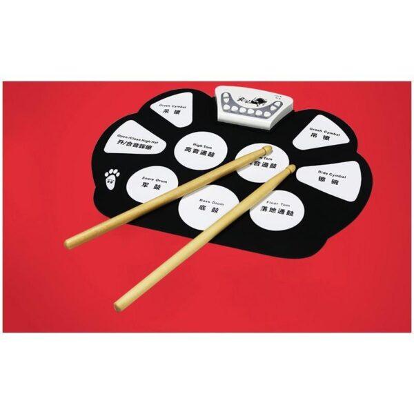 38348 - Электронная ударная midi-установка Konix W758 - 5 барабанов, 4 тарелки, USB, MP3