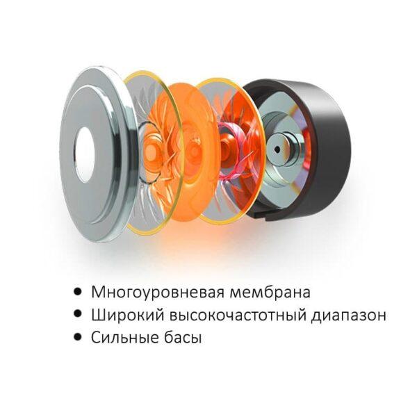38354 - Наушники (гарнитура) Fokoos 6 для смартфонов, планшетов с разъемом USB Type-C