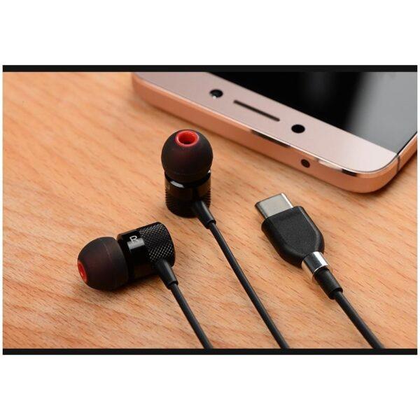 38356 - Наушники (гарнитура) Fokoos 6 для смартфонов, планшетов с разъемом USB Type-C