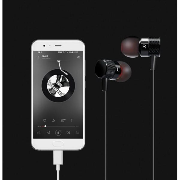 38357 - Наушники (гарнитура) Fokoos 6 для смартфонов, планшетов с разъемом USB Type-C