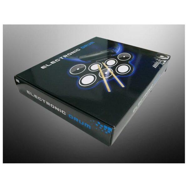 38369 - Электронная портативная барабанная установка Konix MD759: стерео-динамики, педали, mp3-запись, поддержка игр и приложения