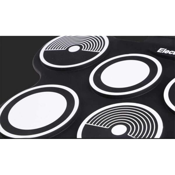 38371 - Электронная портативная барабанная установка Konix MD759: стерео-динамики, педали, mp3-запись, поддержка игр и приложения