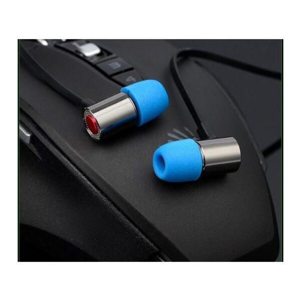 38415 - Портативные игровые наушники-гарнитура Fokoos M4: удлинитель для двойного выхода микрофон-наушники, 3,5 мм разъем, 110 дБ