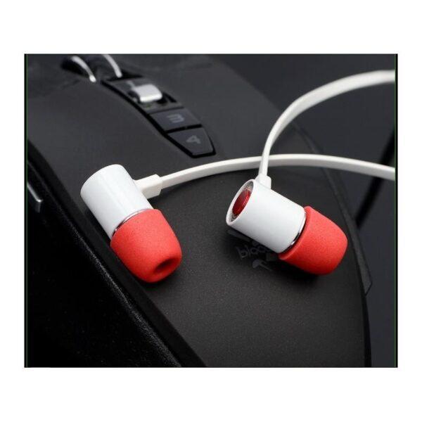 38416 - Портативные игровые наушники-гарнитура Fokoos M4: удлинитель для двойного выхода микрофон-наушники, 3,5 мм разъем, 110 дБ