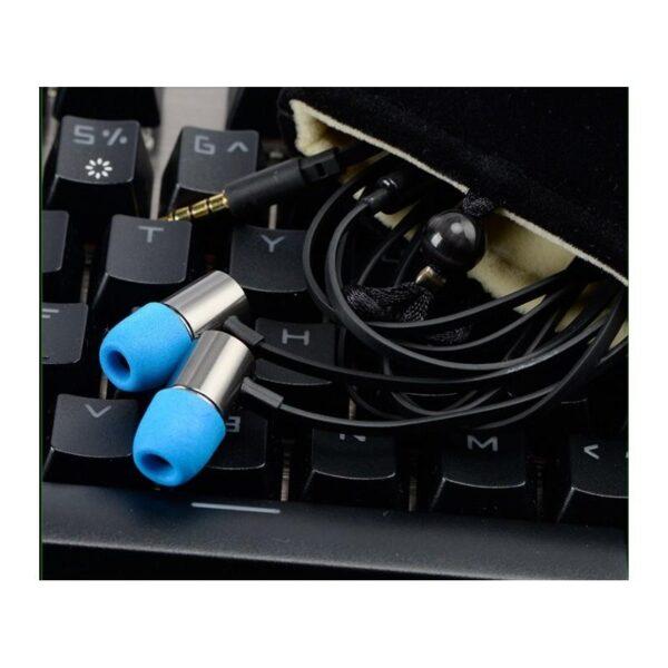 38420 - Портативные игровые наушники-гарнитура Fokoos M4: удлинитель для двойного выхода микрофон-наушники, 3,5 мм разъем, 110 дБ