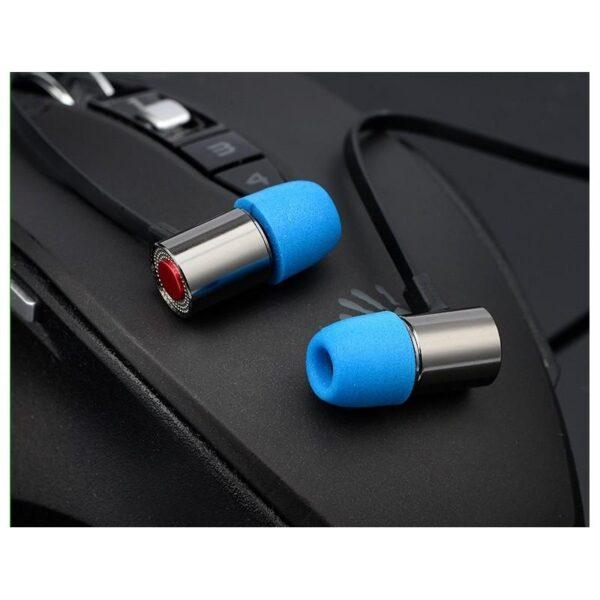 38425 - Портативные игровые наушники-гарнитура Fokoos M4: удлинитель для двойного выхода микрофон-наушники, 3,5 мм разъем, 110 дБ